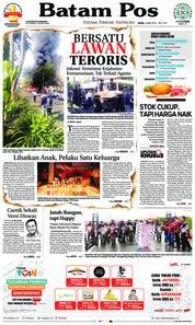 Cover Batam Pos 14 Mei 2018