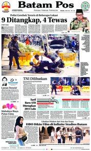Cover Batam Pos 15 Mei 2018
