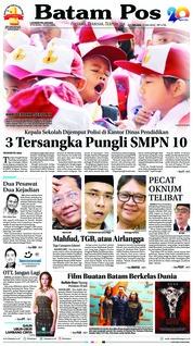 Cover Batam Pos 17 Juli 2018