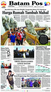 Batam Pos Cover 02 August 2018