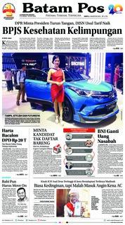 Batam Pos Cover 04 August 2018
