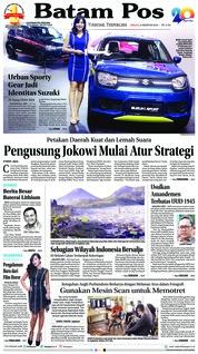 Batam Pos Cover 05 August 2018