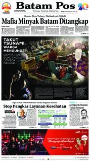 Batam Pos Cover 06 August 2018