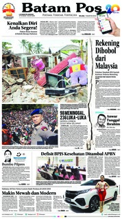 Cover Batam Pos 07 Agustus 2018