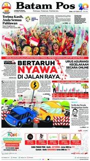Cover Batam Pos 03 September 2018
