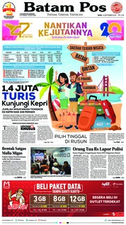 Cover Batam Pos 10 September 2018