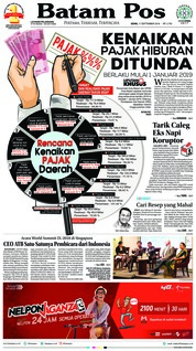 Batam Pos Cover 17 September 2018