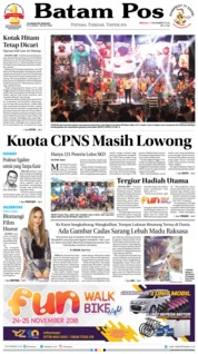 Cover Batam Pos 11 November 2018