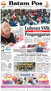 Batam Pos Cover 21 November 2018
