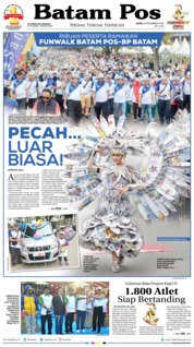 Cover Batam Pos 26 November 2018