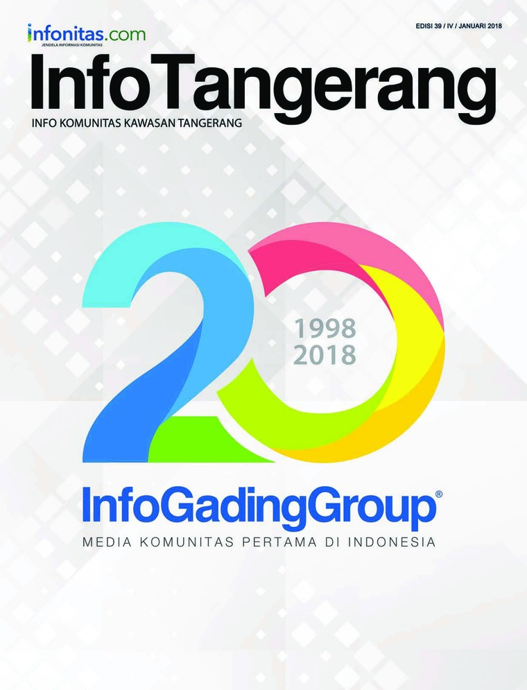 InfoTangerang Digital Magazine January 2018