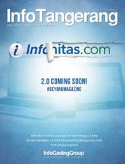 Cover Majalah InfoTangerang November 2016