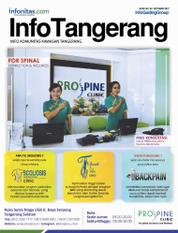 InfoTangerang Magazine Cover October 2017