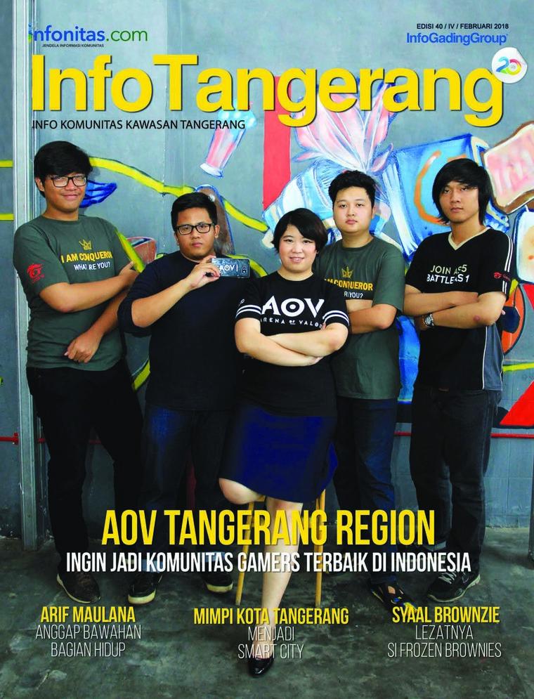 Majalah Digital InfoTangerang Februari 2018