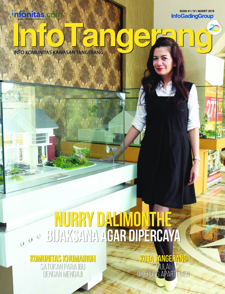 Majalah Digital InfoTangerang Maret 2018