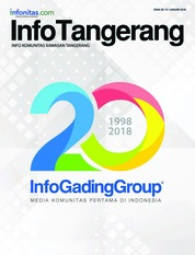 InfoTangerang Magazine Cover January 2018
