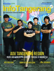 InfoTangerang Magazine Cover February 2018