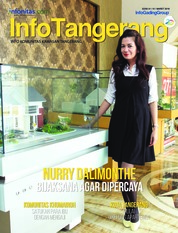 InfoTangerang Magazine Cover March 2018