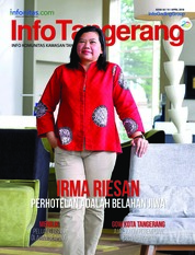 InfoTangerang Magazine Cover April 2018