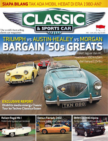 Jual Majalah Classic Sports Car Mei Juni 2012 Gramedia Digital