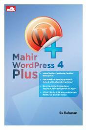 Cover Mahir WordPress 4 Plus oleh Su Rahman