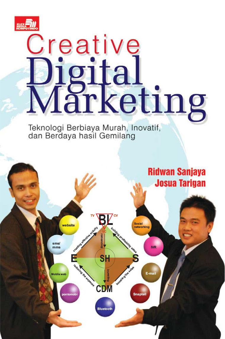 Buku Digital Creative Digital Marketing oleh Ridwan Sanjaya