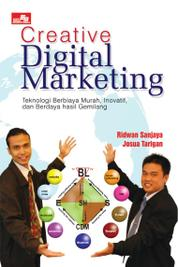Cover Creative Digital Marketing oleh Ridwan Sanjaya