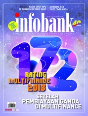 Cover Majalah infobank Agustus 2018