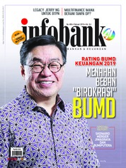 Cover Majalah infobank Februari 2019