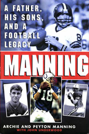 Manning by Peyton Manning Cover