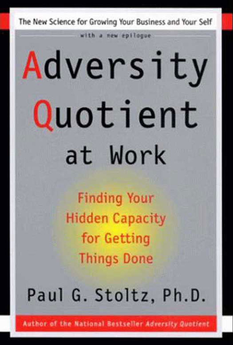 adversity quotient Adversity quotient firstly, while the 12 statements in the organizational resilience survey were developed to reflect the core dimensions, its validity and reliability have not been verified.