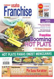 Cover Majalah Tabloid Usaha Franchise ED 08 April 2016