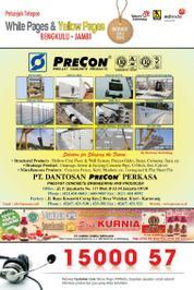Cover Majalah Yellow Pages - Bengkulu