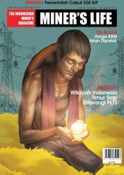 Cover Majalah MINER'S LIFE ED 12 2015