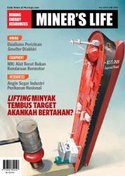 Cover Majalah MINER'S LIFE ED 27 Mei 2016