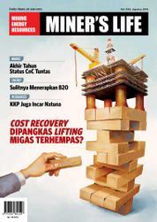 Cover Majalah MINER'S LIFE ED 30 Agustus 2016