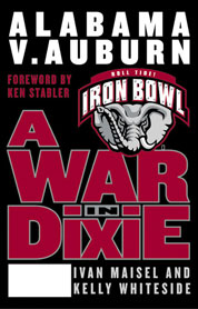 A War in Dixie by Ivan Maisel Cover