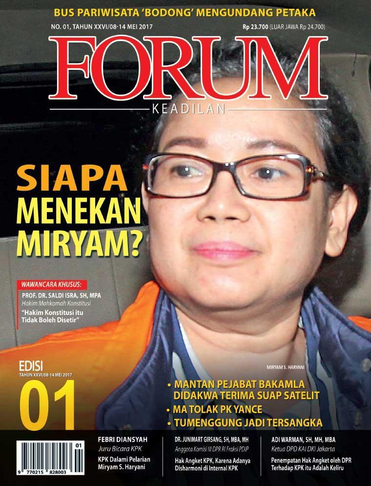 Majalah Digital Forum Keadilan ED 01 Mei 2017