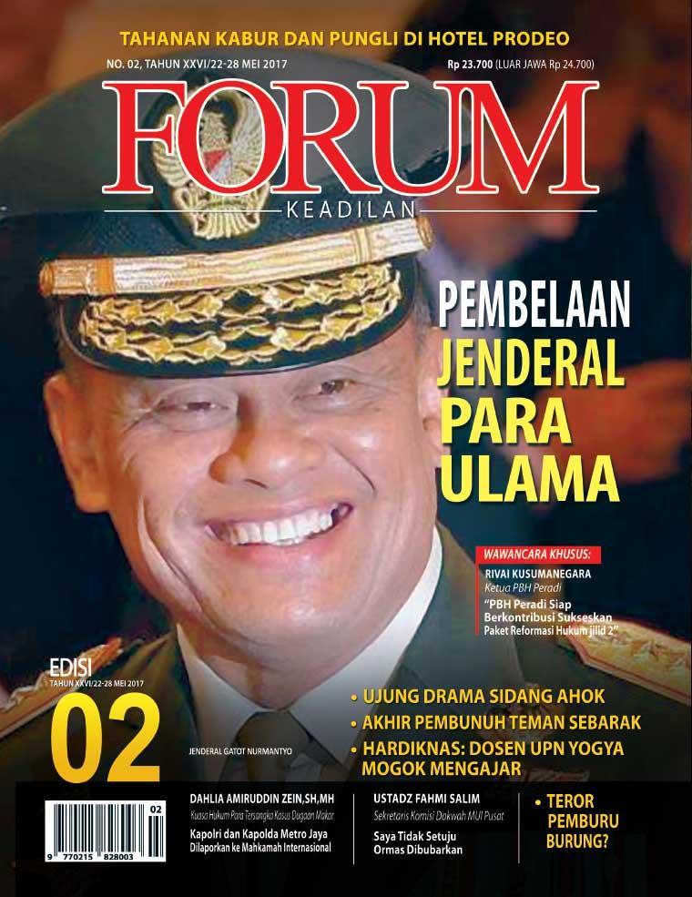 Majalah Digital Forum Keadilan ED 02 Mei 2017