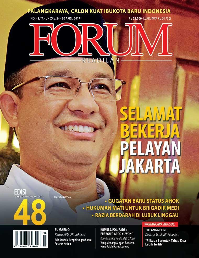 Majalah Digital Forum Keadilan ED 48 Mei 2017