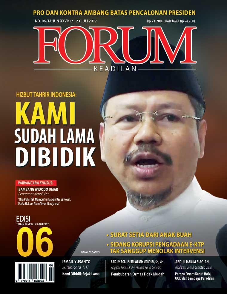 Majalah Digital Forum Keadilan ED 06 Juli 2017