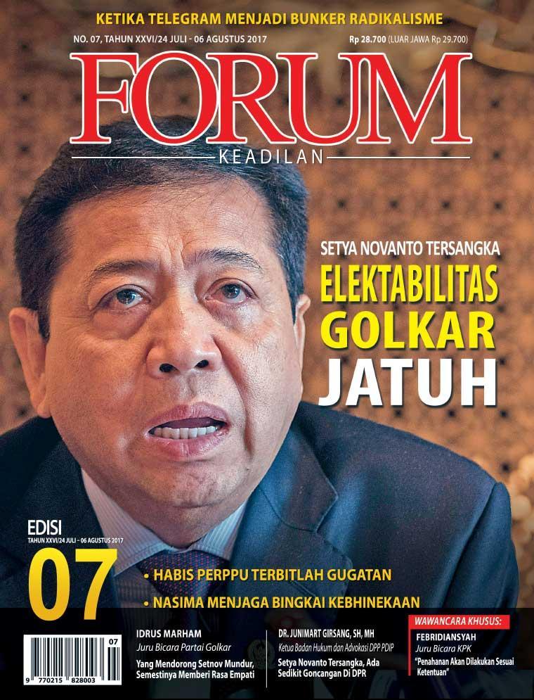 Majalah Digital Forum Keadilan ED 07 Juli 2017