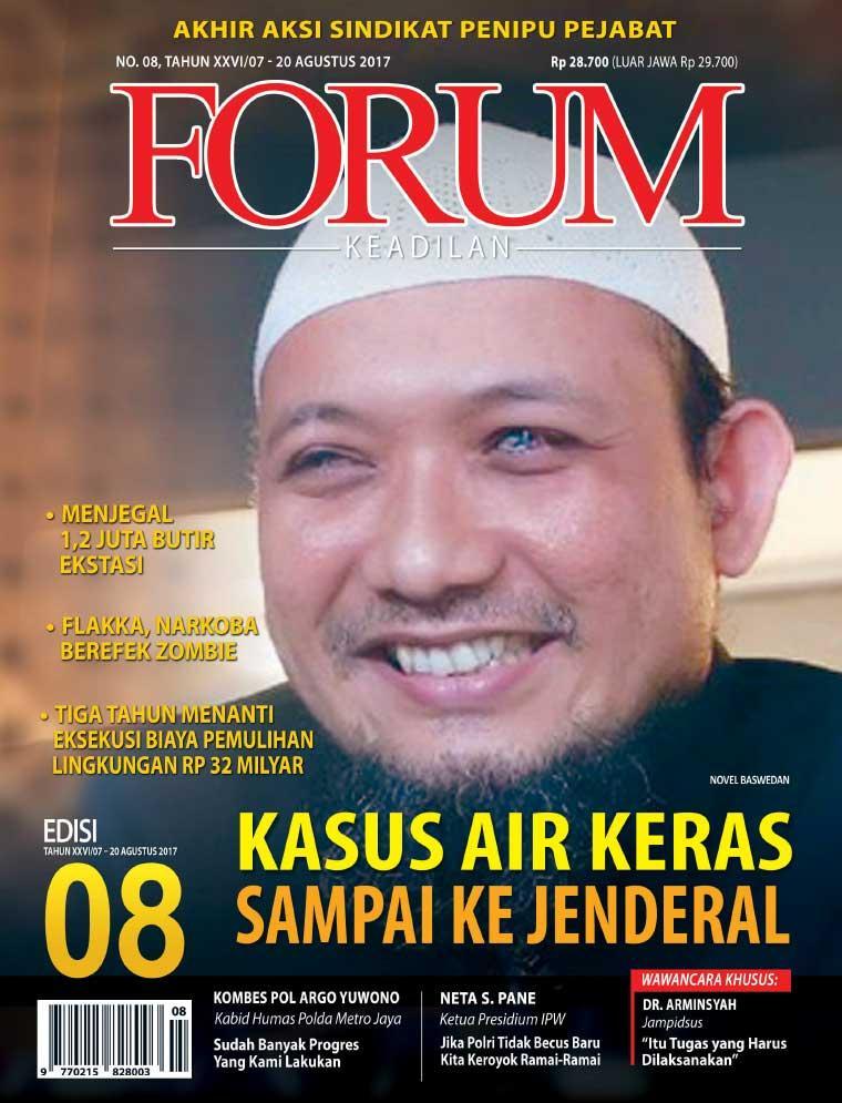 Majalah Digital Forum Keadilan ED 08 Agustus 2017