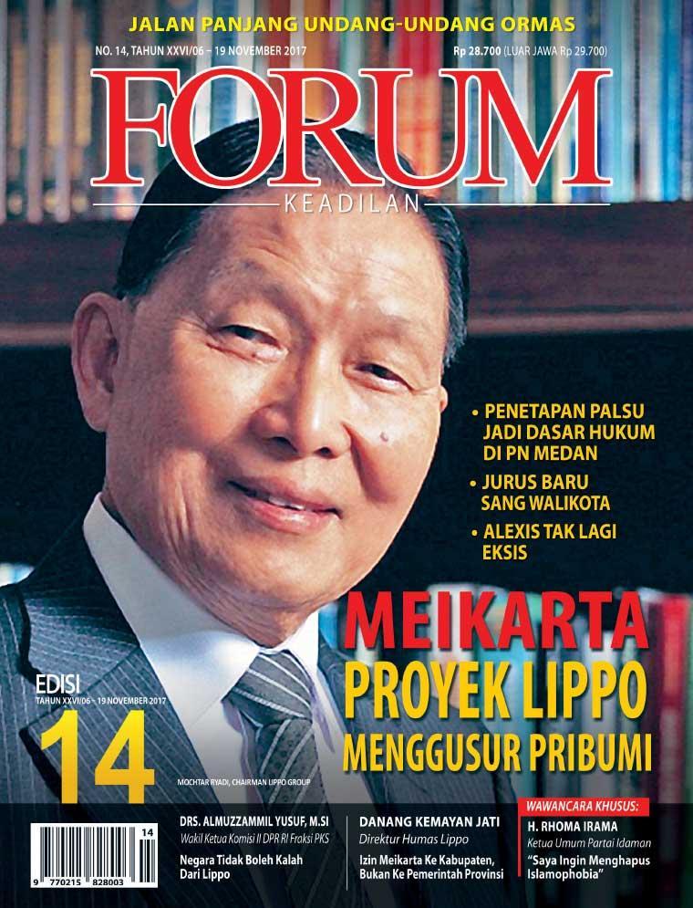Majalah Digital Forum Keadilan ED 14 November 2017