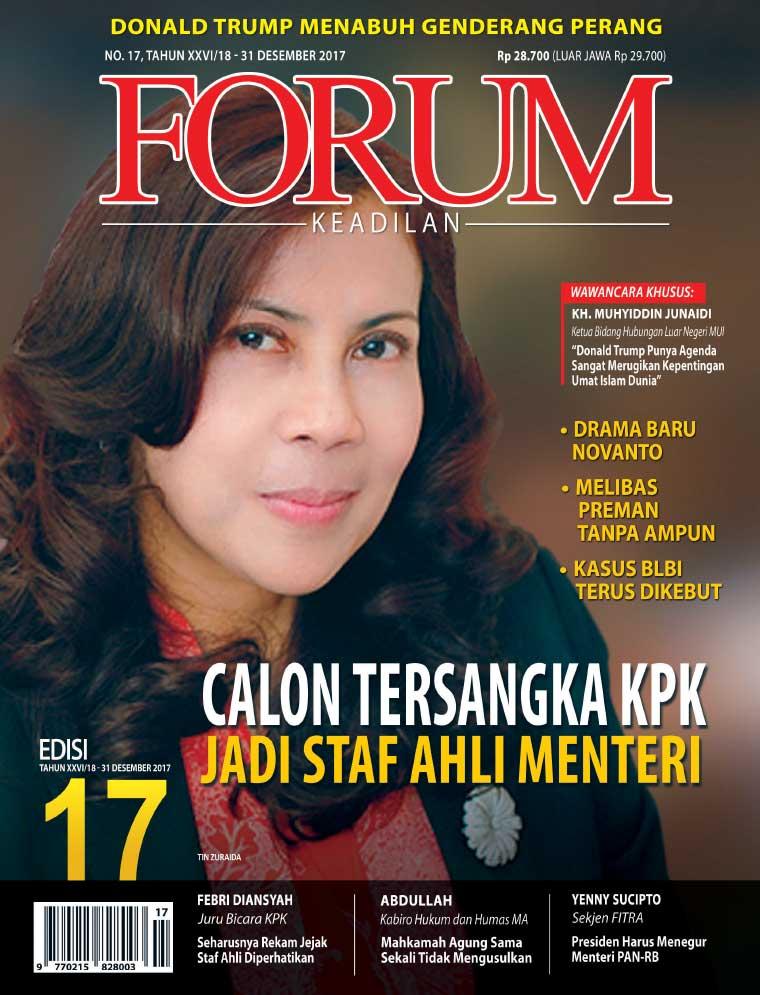Majalah Digital Forum Keadilan ED 17 Desember 2017