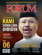 Cover Majalah Forum Keadilan ED 06 Juli 2017