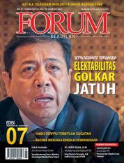 Cover Majalah Forum Keadilan ED 07 Juli 2017