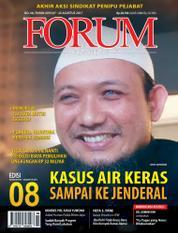 Cover Majalah Forum Keadilan ED 08 Agustus 2017