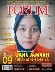 Cover Majalah Forum Keadilan ED 09 Agustus 2017