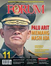 Cover Majalah Forum Keadilan ED 11 September 2017